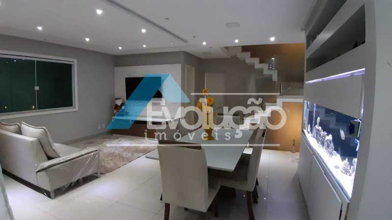 SALA - Casa em Condomínio 5 quartos à venda Campo Grande, Rio de Janeiro - R$ 1.325.000 - V0312 - 9