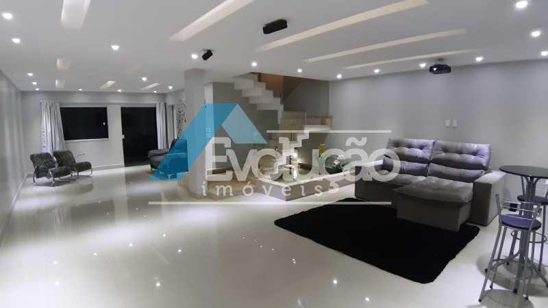 SALA - Casa em Condomínio 5 quartos à venda Campo Grande, Rio de Janeiro - R$ 1.325.000 - V0312 - 15