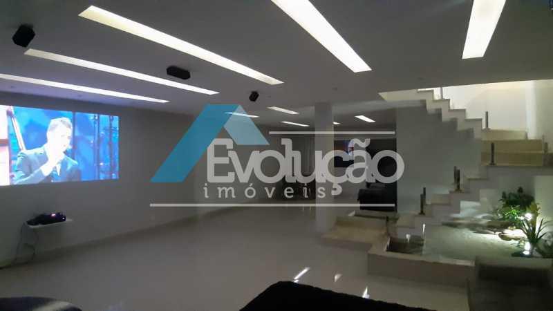 SALA DE TV - Casa em Condomínio 5 quartos à venda Campo Grande, Rio de Janeiro - R$ 1.325.000 - V0312 - 16