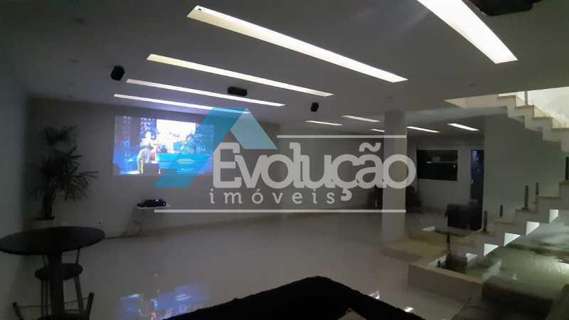 SALA DE TV - Casa em Condomínio 5 quartos à venda Campo Grande, Rio de Janeiro - R$ 1.325.000 - V0312 - 17
