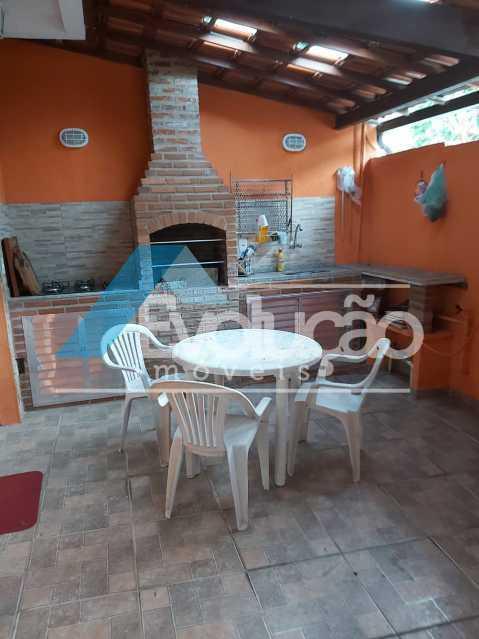 ÁREA GOURMET - Casa em Condomínio 2 quartos à venda Campo Grande, Rio de Janeiro - R$ 260.000 - V0321 - 5