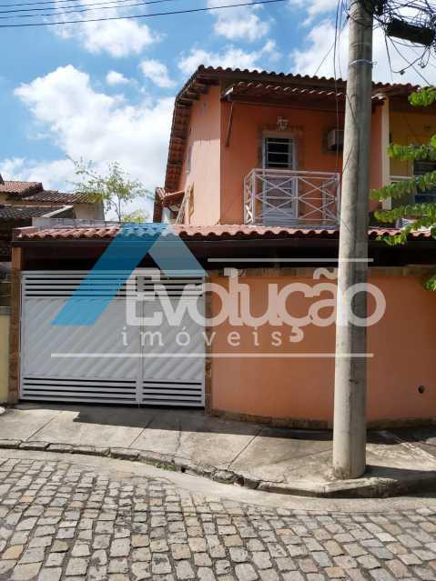FACHADA - Casa em Condomínio 2 quartos à venda Campo Grande, Rio de Janeiro - R$ 260.000 - V0321 - 1