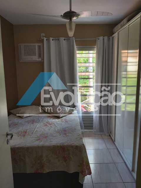 QUARTO COM SACADA - Casa em Condomínio 2 quartos à venda Campo Grande, Rio de Janeiro - R$ 260.000 - V0321 - 13