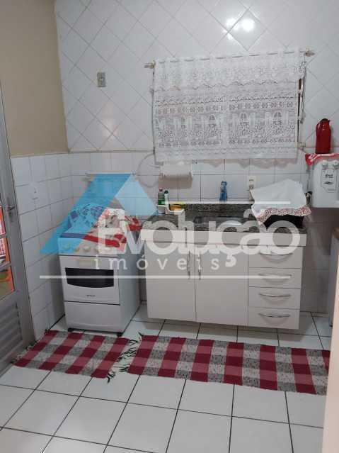 COZINHA - Casa em Condomínio 2 quartos à venda Campo Grande, Rio de Janeiro - R$ 260.000 - V0321 - 19