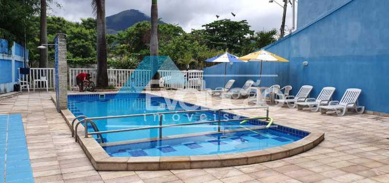 PISCINA CONDOMÍNIO - Casa em Condomínio 2 quartos à venda Campo Grande, Rio de Janeiro - R$ 260.000 - V0321 - 3