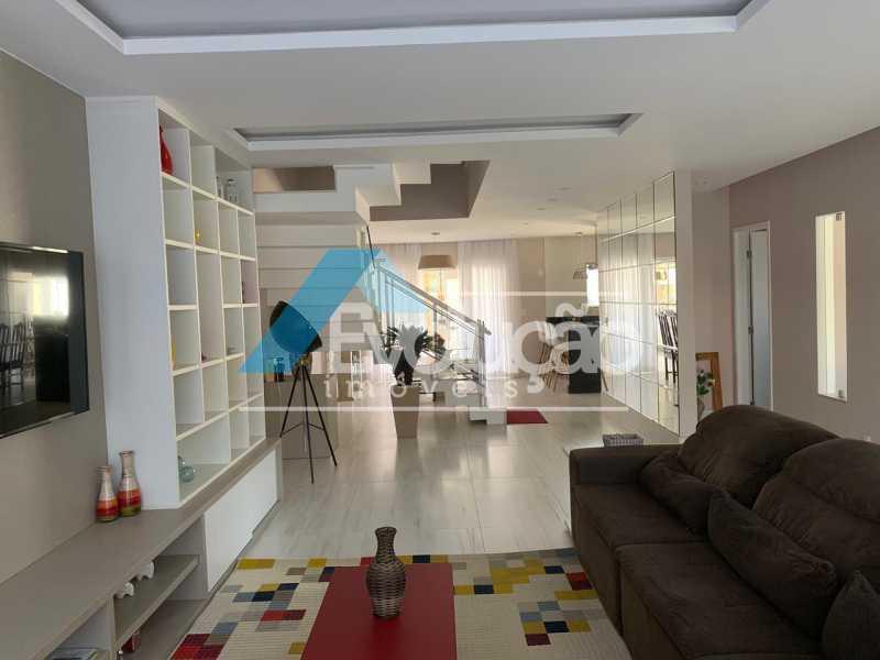 SALA - Casa em Condomínio 3 quartos à venda Campo Grande, Rio de Janeiro - R$ 1.600.000 - V0322 - 4
