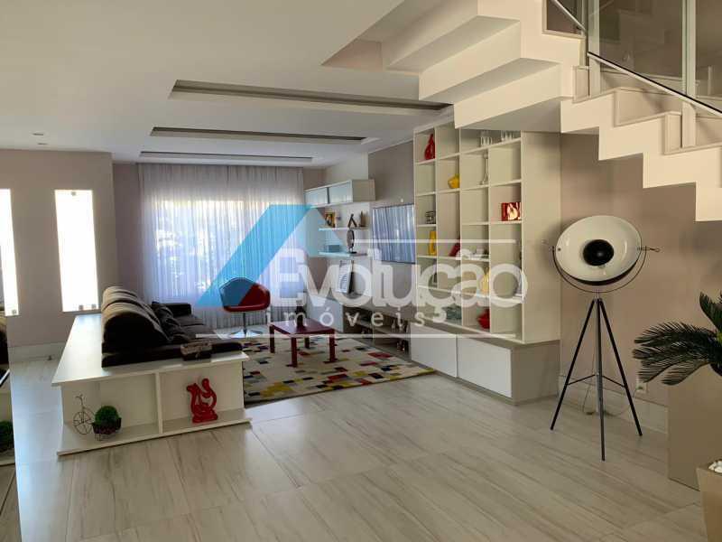 SALA - Casa em Condomínio 3 quartos à venda Campo Grande, Rio de Janeiro - R$ 1.600.000 - V0322 - 6