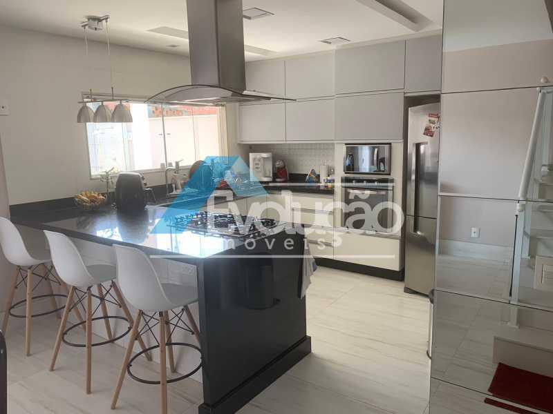 COZINHA - Casa em Condomínio 3 quartos à venda Campo Grande, Rio de Janeiro - R$ 1.600.000 - V0322 - 7