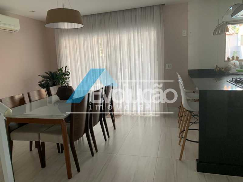 SALA DE JANTAR - Casa em Condomínio 3 quartos à venda Campo Grande, Rio de Janeiro - R$ 1.600.000 - V0322 - 8