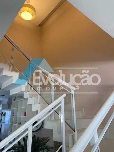 ESCADA - Casa em Condomínio 3 quartos à venda Campo Grande, Rio de Janeiro - R$ 1.600.000 - V0322 - 11