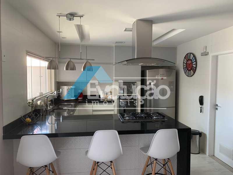 COZINHA - Casa em Condomínio 3 quartos à venda Campo Grande, Rio de Janeiro - R$ 1.600.000 - V0322 - 14