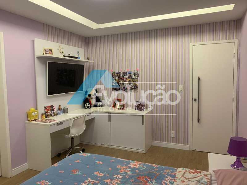 SUÍTE 1 - Casa em Condomínio 3 quartos à venda Campo Grande, Rio de Janeiro - R$ 1.600.000 - V0322 - 15