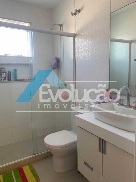BANHEIRO SUÍTE 1 - Casa em Condomínio 3 quartos à venda Campo Grande, Rio de Janeiro - R$ 1.600.000 - V0322 - 17