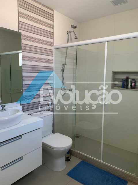 BANHEIRO SUÍTE 2 - Casa em Condomínio 3 quartos à venda Campo Grande, Rio de Janeiro - R$ 1.600.000 - V0322 - 20