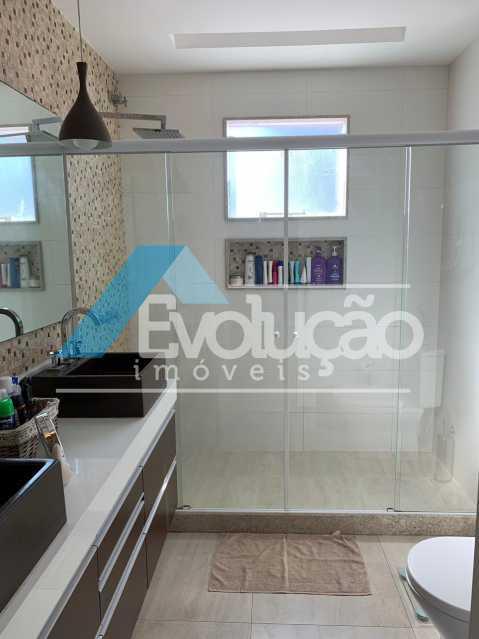 BANHEIRO SUÍTE MASTER - Casa em Condomínio 3 quartos à venda Campo Grande, Rio de Janeiro - R$ 1.600.000 - V0322 - 23