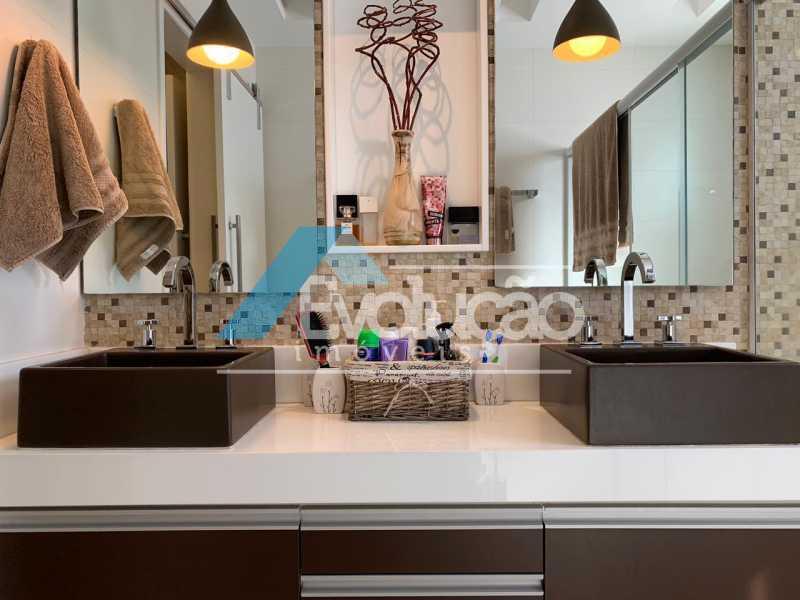 BANHEIRO SUÍTE MASTER - Casa em Condomínio 3 quartos à venda Campo Grande, Rio de Janeiro - R$ 1.600.000 - V0322 - 24