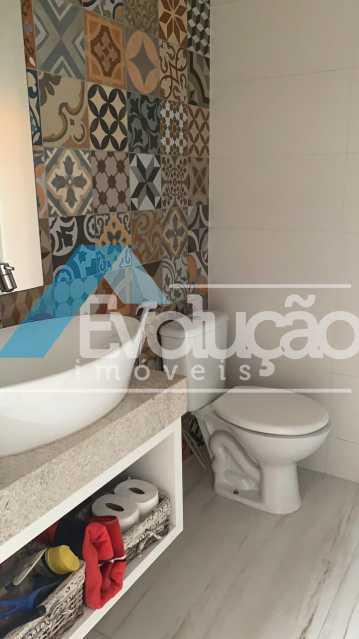 BANHEIRO EXTERNO - Casa em Condomínio 3 quartos à venda Campo Grande, Rio de Janeiro - R$ 1.600.000 - V0322 - 30