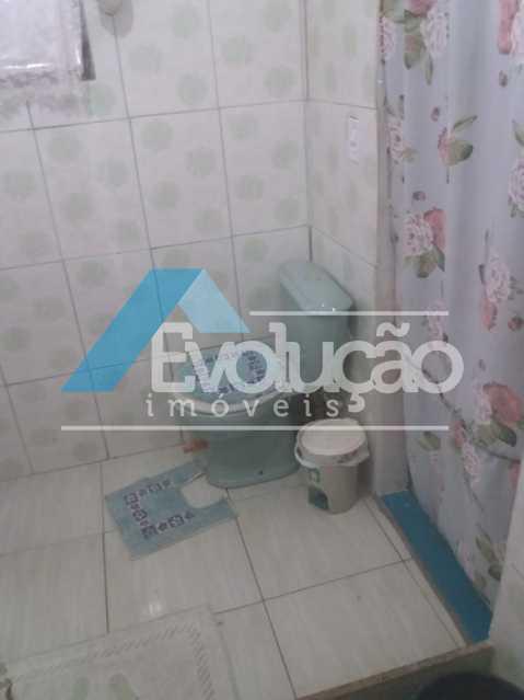 BANHEIRO SOCIAL - Casa 3 quartos à venda Campo Grande, Rio de Janeiro - R$ 180.000 - V0325 - 4