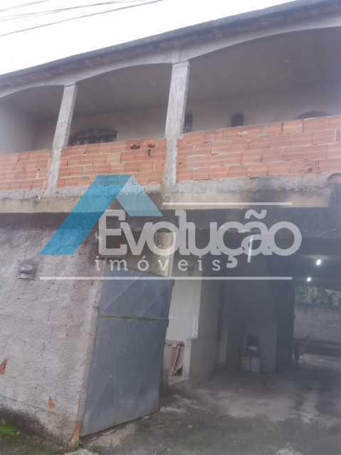 FACHADA - Casa 3 quartos à venda Campo Grande, Rio de Janeiro - R$ 180.000 - V0325 - 12