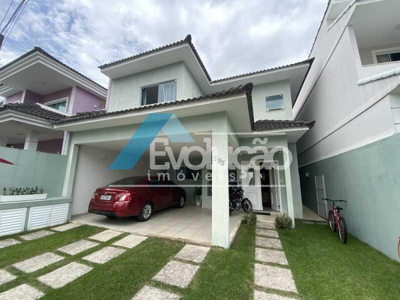 FACHADA - Casa em Condomínio 3 quartos à venda Campo Grande, Rio de Janeiro - R$ 950.000 - V0323 - 1