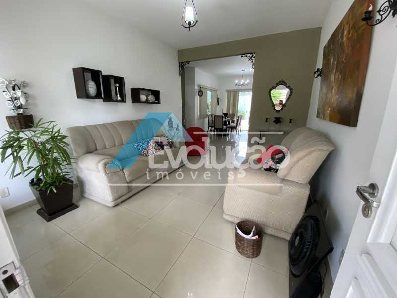 SALA DE ESTAR - Casa em Condomínio 3 quartos à venda Campo Grande, Rio de Janeiro - R$ 950.000 - V0323 - 3