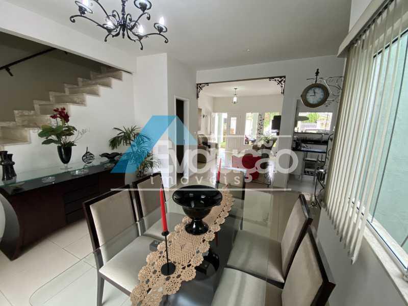 SALA DE JANTAR - Casa em Condomínio 3 quartos à venda Campo Grande, Rio de Janeiro - R$ 950.000 - V0323 - 4
