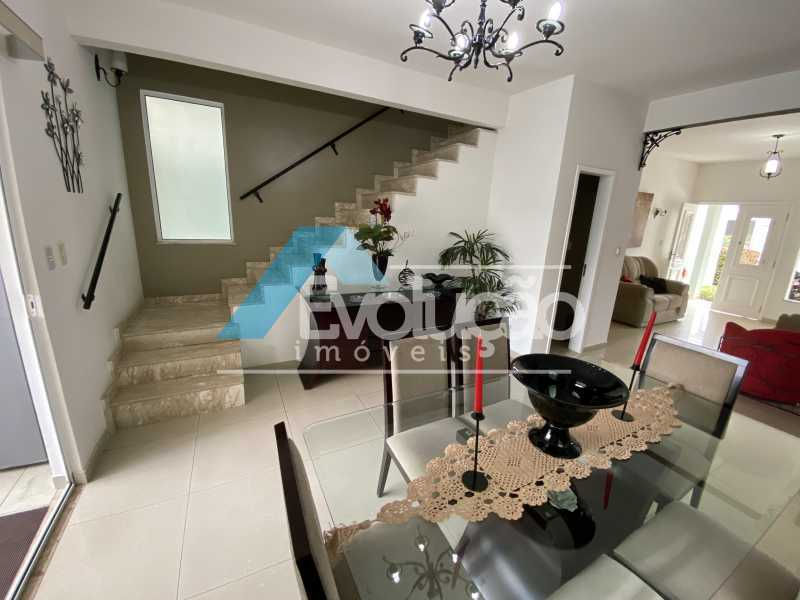 SALA DE JANTAR - Casa em Condomínio 3 quartos à venda Campo Grande, Rio de Janeiro - R$ 950.000 - V0323 - 5