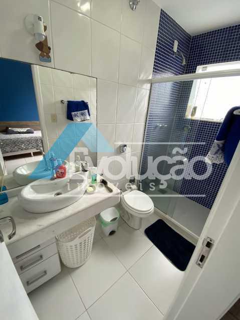 BANHEIRO SUÍTE 1 - Casa em Condomínio 3 quartos à venda Campo Grande, Rio de Janeiro - R$ 950.000 - V0323 - 15