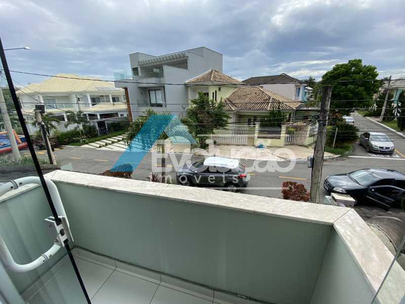 VARANDA SUÍTE 2 - Casa em Condomínio 3 quartos à venda Campo Grande, Rio de Janeiro - R$ 950.000 - V0323 - 18