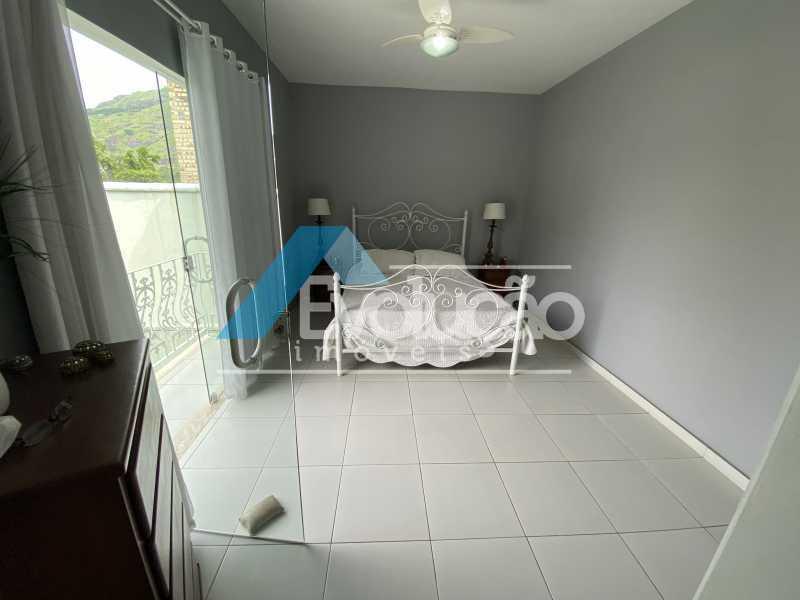 SUÍTE 3 - Casa em Condomínio 3 quartos à venda Campo Grande, Rio de Janeiro - R$ 950.000 - V0323 - 22