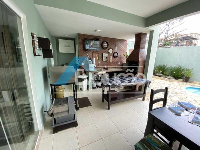 ÁREA GOURMET - Casa em Condomínio 3 quartos à venda Campo Grande, Rio de Janeiro - R$ 950.000 - V0323 - 10