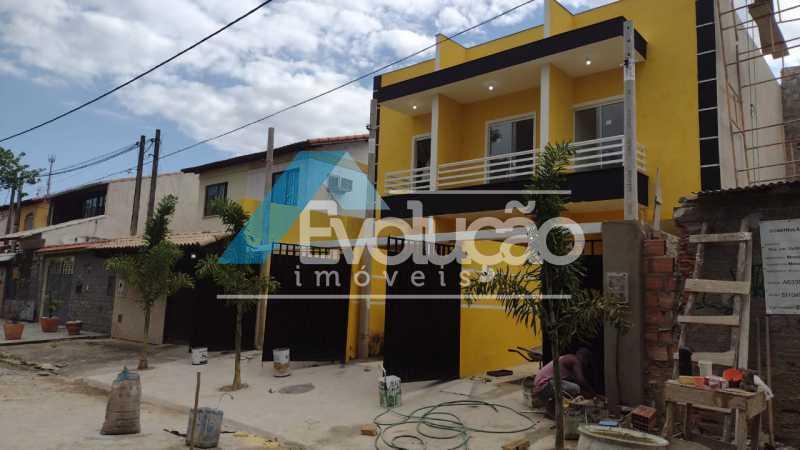 FACHADA - Casa 2 quartos à venda Campo Grande, Rio de Janeiro - R$ 220.000 - V0328 - 3