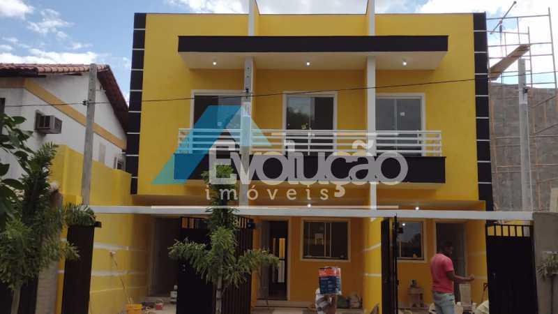 FACHADA - Casa 2 quartos à venda Campo Grande, Rio de Janeiro - R$ 220.000 - V0328 - 1