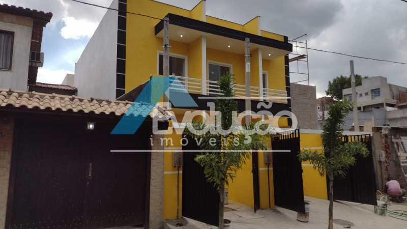 FACHADA - Casa 2 quartos à venda Campo Grande, Rio de Janeiro - R$ 220.000 - V0328 - 4