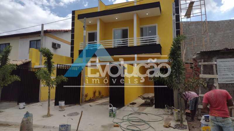 FACHADA - Casa 2 quartos à venda Campo Grande, Rio de Janeiro - R$ 220.000 - V0328 - 6