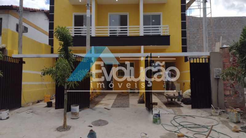 FACHADA - Casa 2 quartos à venda Campo Grande, Rio de Janeiro - R$ 220.000 - V0328 - 7