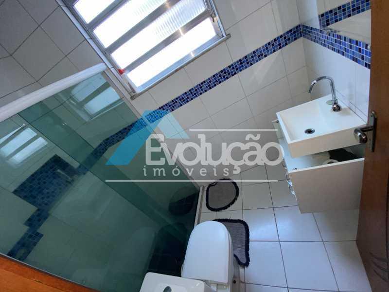 BANHEIRO SOCIAL - Apartamento 2 quartos à venda Campo Grande, Rio de Janeiro - R$ 195.000 - V0332 - 6