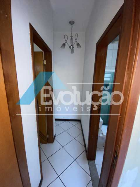 CORREDOR - Apartamento 2 quartos à venda Campo Grande, Rio de Janeiro - R$ 195.000 - V0332 - 11