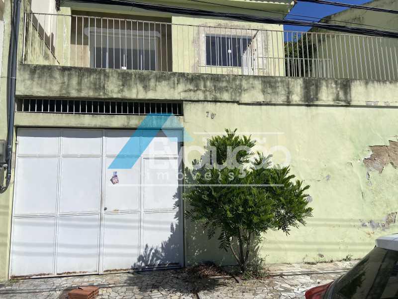 FACHADA  - Casa 2 quartos para venda e aluguel Campo Grande, Rio de Janeiro - R$ 180.000 - V0335 - 4
