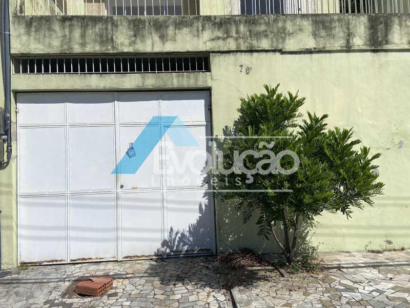 FACHADA - Casa 2 quartos para venda e aluguel Campo Grande, Rio de Janeiro - R$ 180.000 - V0335 - 3