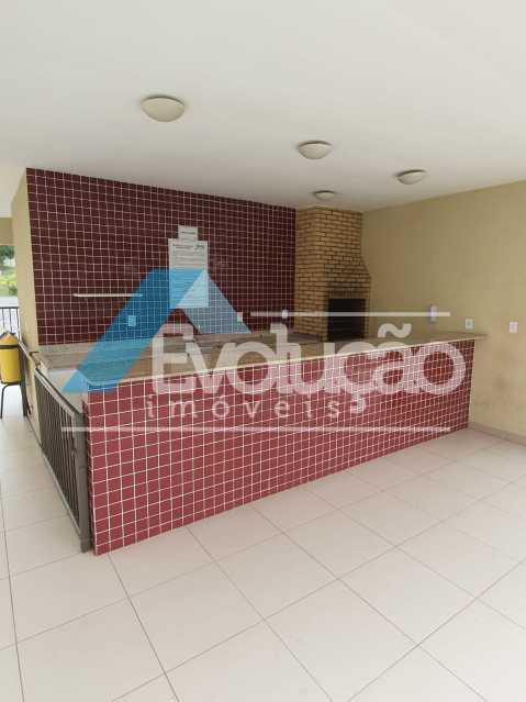 ÁREA LAZER - Apartamento 2 quartos à venda Cosmos, Rio de Janeiro - R$ 235.000 - V0336 - 21