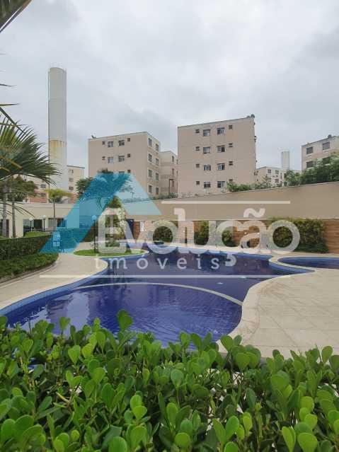 PISCINA - Apartamento 2 quartos à venda Cosmos, Rio de Janeiro - R$ 235.000 - V0336 - 22