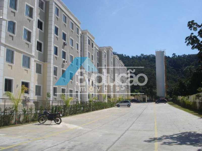 CONDOMÍNIO - Apartamento para alugar Estrada do Magarça,Guaratiba, Rio de Janeiro - R$ 900 - A0338 - 4