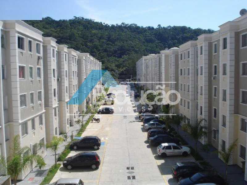 CONDOMÍNIO - Apartamento para alugar Estrada do Magarça,Guaratiba, Rio de Janeiro - R$ 900 - A0338 - 5