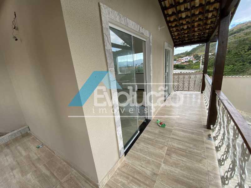 VARANDA DA SALA - Casa 3 quartos para alugar Campo Grande, Rio de Janeiro - R$ 2.700 - A0331 - 5