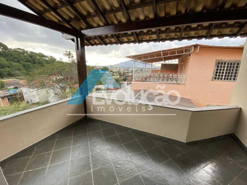 VARANDA QUARTO 1 - Casa 3 quartos para alugar Campo Grande, Rio de Janeiro - R$ 2.700 - A0331 - 9