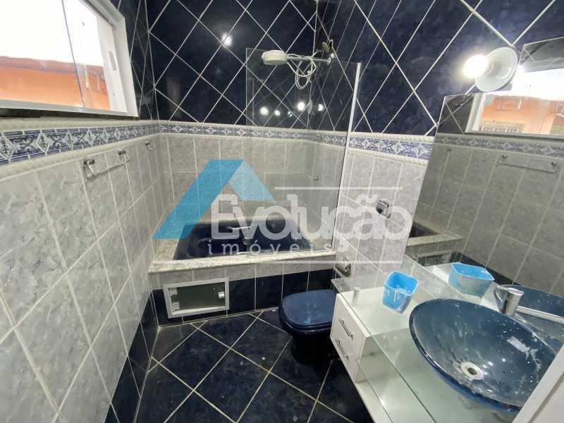 BANHEIRO DA SUÍTE - Casa 3 quartos para alugar Campo Grande, Rio de Janeiro - R$ 2.700 - A0331 - 20