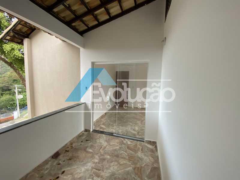 VARANDA DA SUÍTE - Casa 3 quartos para alugar Campo Grande, Rio de Janeiro - R$ 2.700 - A0331 - 21