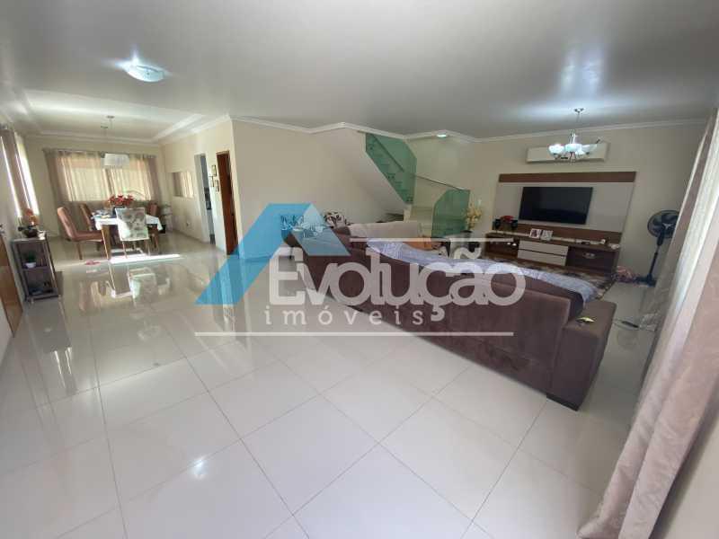 SALA - Casa em Condomínio 3 quartos à venda Campo Grande, Rio de Janeiro - R$ 800.000 - V0343 - 4