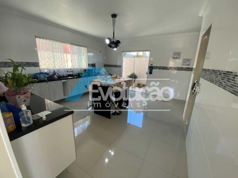COZINHA - Casa em Condomínio 3 quartos à venda Campo Grande, Rio de Janeiro - R$ 800.000 - V0343 - 9